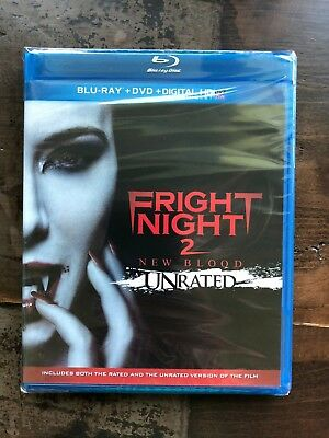 FRIGHT NIGHT 2 Blu-ray + DVD New Free Ship