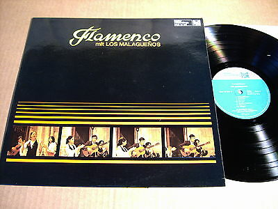 Los Malaguenos - Flamenco - Lp - Deller Recordings Fsm 43 302