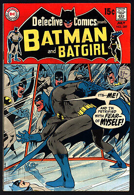 Detective Comics #389 Jul 1969. Great Cover Gloss, Lovely White Pages!