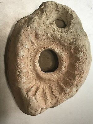 Very Rare Egyptian-Jude's Oil Lamp 2500 Yrs Old
