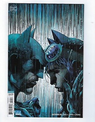 Batman #50 Jim Lee Variant Cover Wedding Catwoman 1St Print Nmt Dc Comics 2018