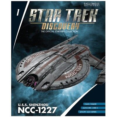 Star Trek Eaglemoss Magazine Only. Uss Shenzhou