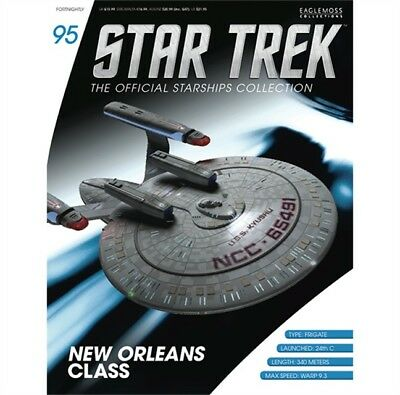 Star Trek Eaglemoss Magazine Only. Uss Kyushu New Orleans Class
