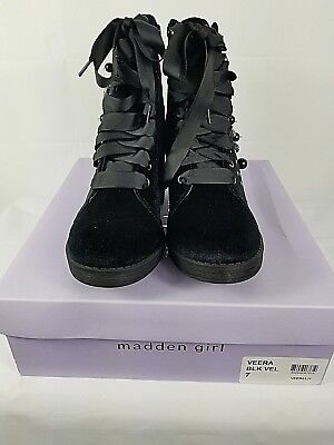 8fd48b15408 MADDEN GIRL VEERA Black Womens Shoes Size 6 M Boots MSRP $89 ...