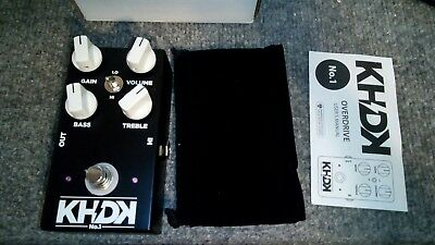 KHDK Kirk Hammett No 1 Overdrive Guitar Effects Pedal KHDK1 KHDK - great