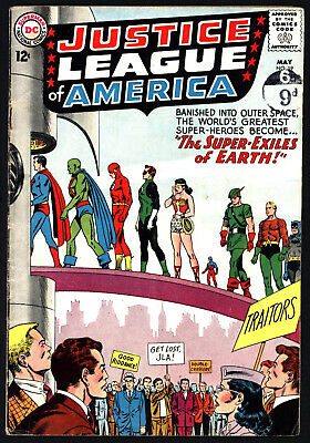 Justice League Of America #19 From May 1963 Nice Original Owner Copy