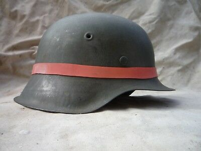 WW2 German helmet band for camouflage