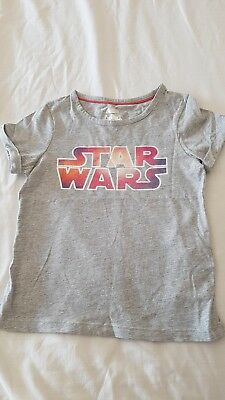 Star wars t shirt girls age 5