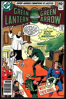 Green Lantern #122 Nm- 9.2 Glossy Cents Copy White Pgs. Gl Marries -Or Does He?