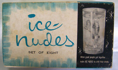 1950s Ray Products ICE NUDES Novelty Ice Cube Molds in Original Box