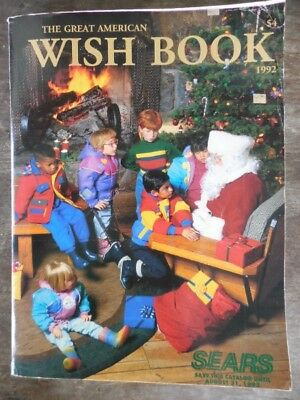 Vintage 1992 Sears Christmas Wish Book Catalog Toys Video Games Fashion & More