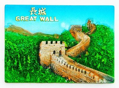 Fridge Magnet 3D Souvenir Resin Large Impressive The Great Wall Of China New