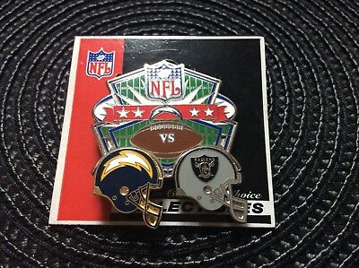 NFL 2006 San Diego Chargers Vs Oakland Raiders Collectible Pin!