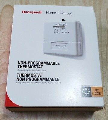 HONEYWELL STANDARD HEAT Only Non-Programmable Thermostat