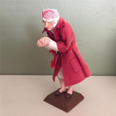 """Simpich Of Colorado Springs """"scrooge"""" Figure From """"a Christmas Carol"""" - 1986"""