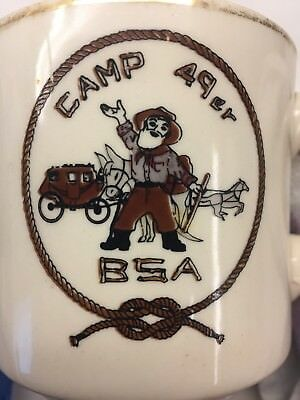 Boy Scouts of America BSA Camp 49er Coffee Cup
