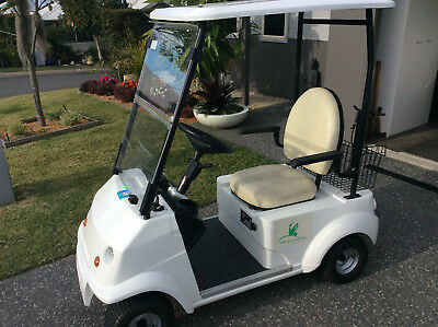 Grasshopper single seat golf cart