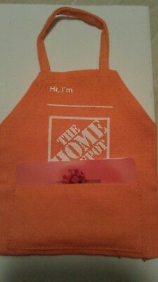 Home Depot Gift Card Apron miniature holds a gift card great for gift giving