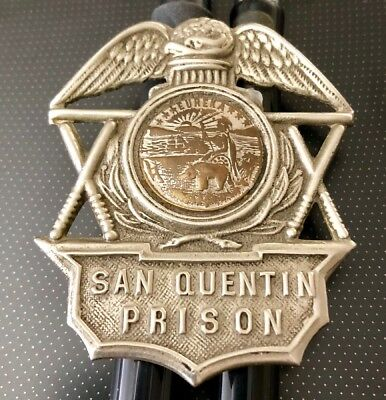 St. Quentin Prison - 75 Year Old Hat Badge.