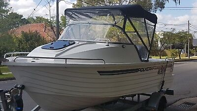 2010 Polycraft 5.30 Warrior Cuddy Cabin Boat