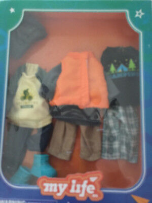 My Life As Mini Outdoorsy Boy Outfits - Set of 3 Outfits fit 7 Inch dolls