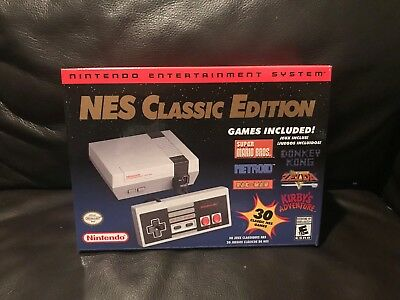Nintendo NES Classic Mini Edition Modded w 1000+ Games - Late 2018 - Ships Mon