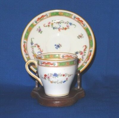 Beautiful MINTONS ~ TIFFANY & CO. Porcelain Floral Cup & Saucer