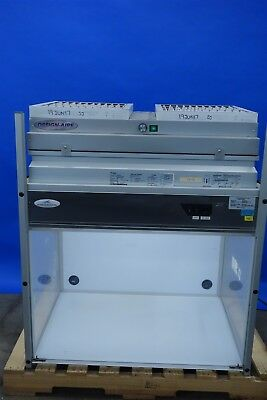 Clean Air Bench Hood for PCR Dead Air Bench by Design Filtration Microzone CAW3