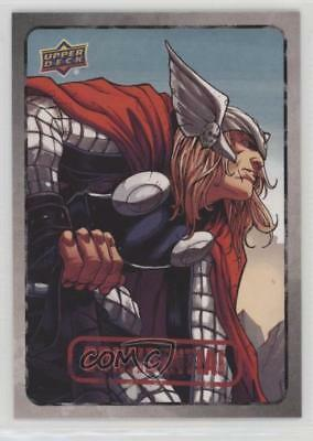 2015 Upper Deck Marvel Dossier #28 Thor Non-Sports Card 0y3