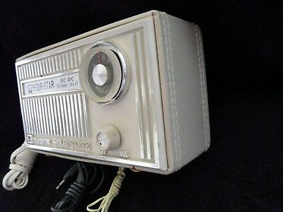 Four Star AC-DC Telephone Pick Up USA 1968, 12 Transistor Solid State + Zubehör