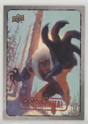 2015 Upper Deck Marvel Dossier #49 Sabretooth Non-Sports Card 2a1