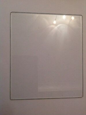 Bevelled Clock Glass Rectangle 178mm X 153mm
