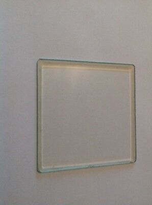 Bevelled Clock Glass Square 69mm