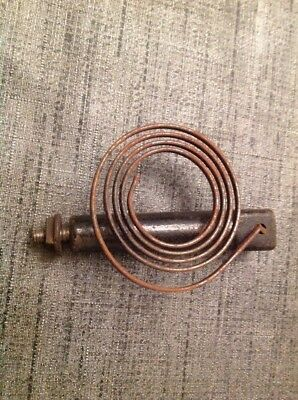 "Clock Chime Gong 3.5X2.5""  Antique Mantle Clock Spare Part"