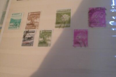 Bangladesh Stamps Used- Various Service 7 Stamps