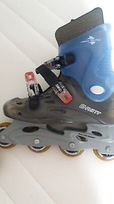 roller blades size 4  orbit nearly new used twice