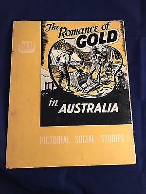 Pictorial Social Studies 'the Romance Of Gold' Vol.23