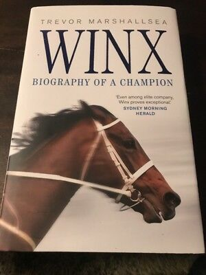 Winx: Biography of a Champion by Trevor Marshallsea Hardcover Book Free Shipping