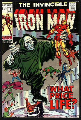 Iron Man #19. George Tuska Art, Great White Pages. Great Value Price.