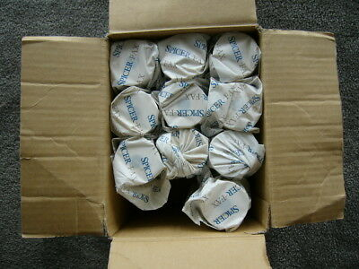 Fax rolls Spicerfax 10 unused in original packaging size 210mm x 30m x11.5 ID