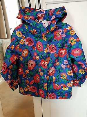 Girls joules raincoat/jacket age 4 (would fit age 5)