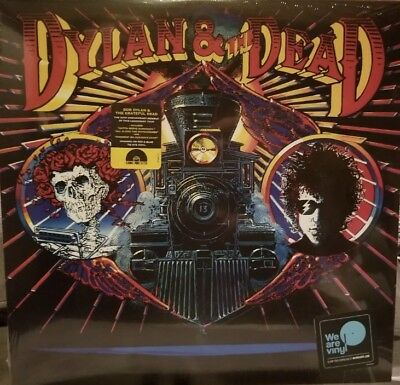 Bob Dylan & The Grateful Dead Dylan & The Dead Rsd  2018 Lp New and sealed
