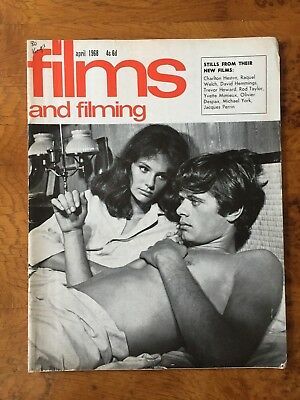 Films and Filming Mag - April 1968 - PLANET OF THE APES - SOPHIA LOREN +