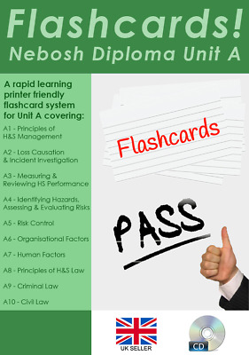 NEBOSH Diploma Unit A Revision Flashcards - Pass first time! Latest Syllabus