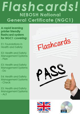 NEBOSH National General Certificate (NGC1) Revision Flashcards. Pass First Time!