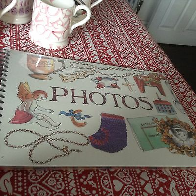 "Emma Bridgewater Matthew Rice Photo Album Scrap Book 14""  Discontinued New"