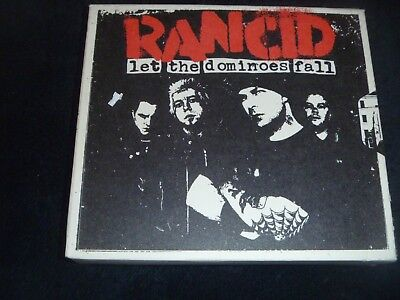 Rancid Let The Dominoes Fall Rare Out Of Print  3 Disc Box  Verison 2 Cd / 1 Dvd