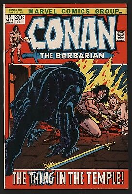 Conan The Barbarian 18  Super Glossy Cents White Pages With Great Gil Kane Art