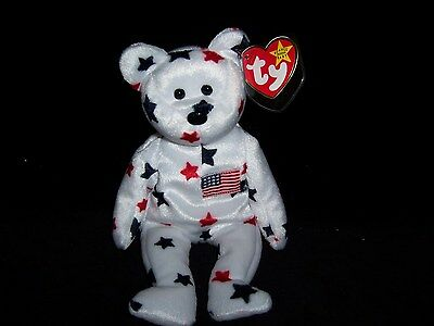 TY Beanie Baby Babies Glory Bear 1998  MINT Private Collection