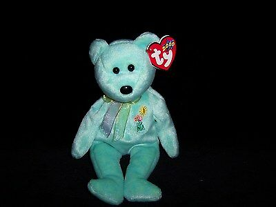 TY Beanie Baby Babies ARIEL Bear 2000 MINT Private Collection